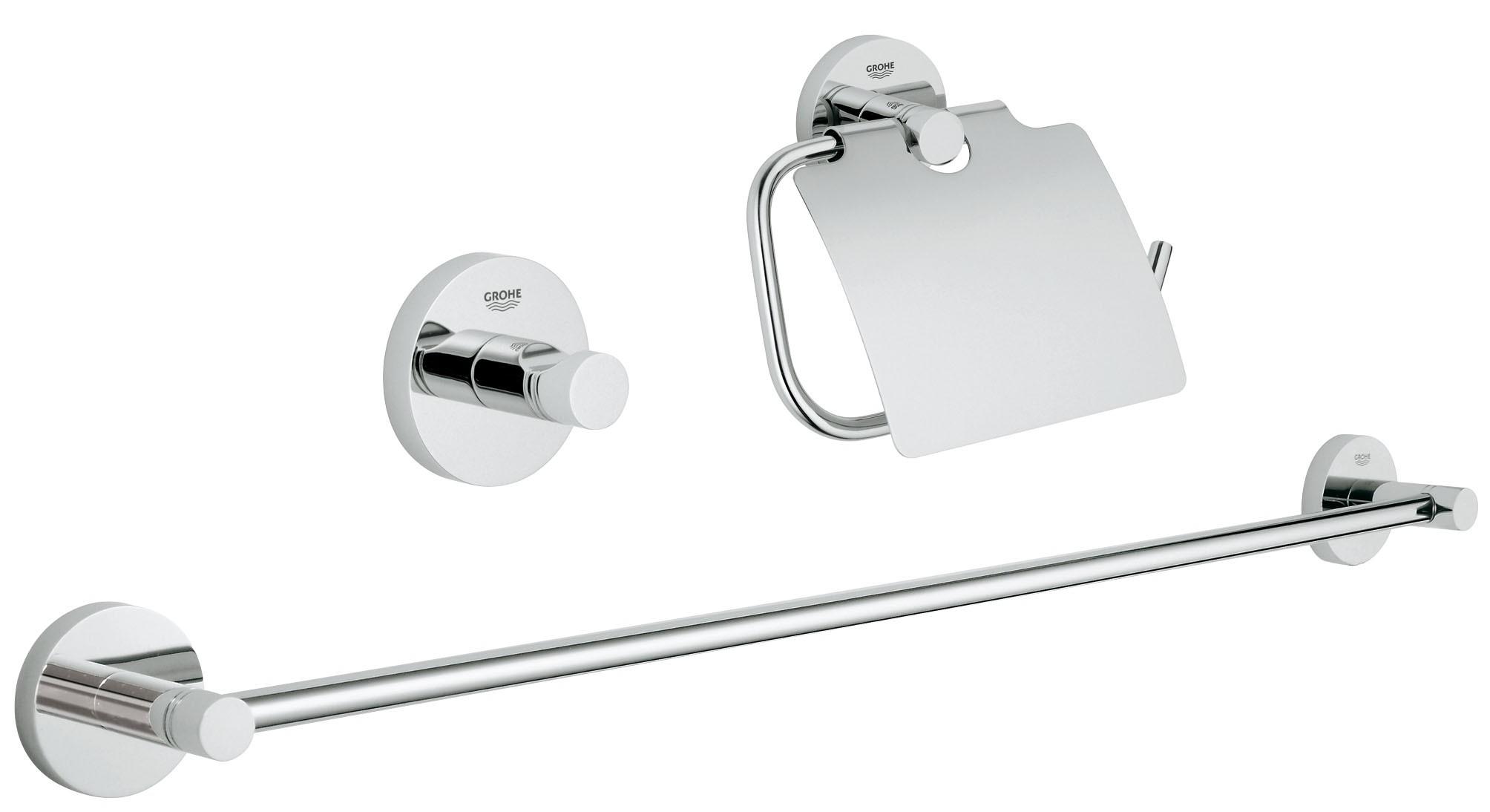 Grohe 40775001 Essentials (3 предмета), хром (40775001)