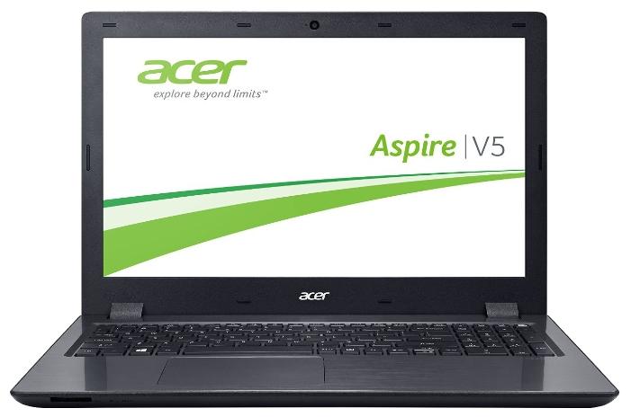 Acer Aspire V5-591G-59Y9 NX.G66ER.007 black - (Intel Core i5 6300HQ 2300 МГц. Экран 15.6 дюймов, 1920x1080, широкоформатный. ОЗУ 12 Гб DDR4 2133 МГц. Накопители ; DVD нет. GPU NVIDIA GeForce GTX 950M. ОС Win 10 Home)