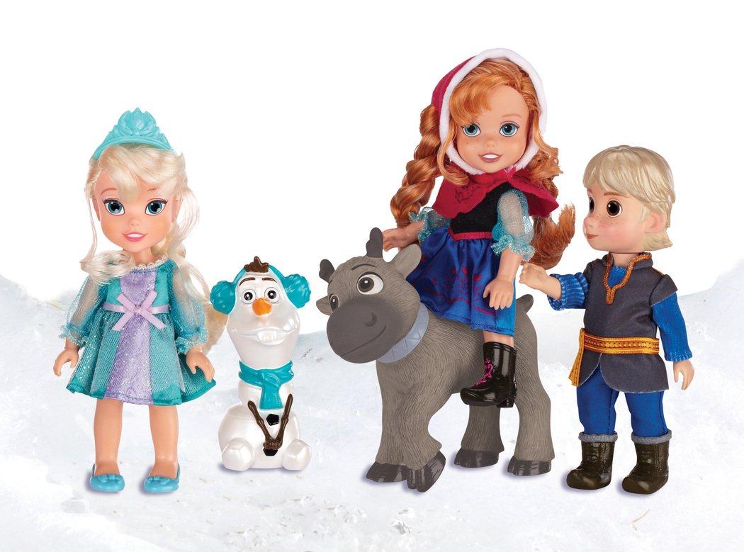 Набор игровой Disney Холодное Сердце Принцессы Дисней (5 кукол)