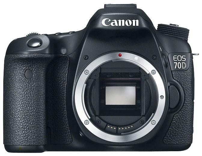 Canon EOS 70D (W) Body - (20.9 млн, 1920x1080, 7 кадр./сек, ЖК-экран: поворотный, сенсорный, 1040000 точек, 3 дюйма)