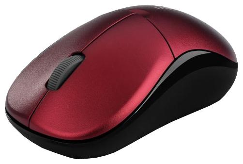 Rapoo 1090p Red USB - оптическая светодиодная; кнопок 3; 1000 dpi; беспроводная связь есть; радиоканал; USB • 98x60 мм 1090p красный