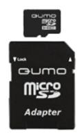 Карта памяти Qumo microSDHC class 10 8GB, Black