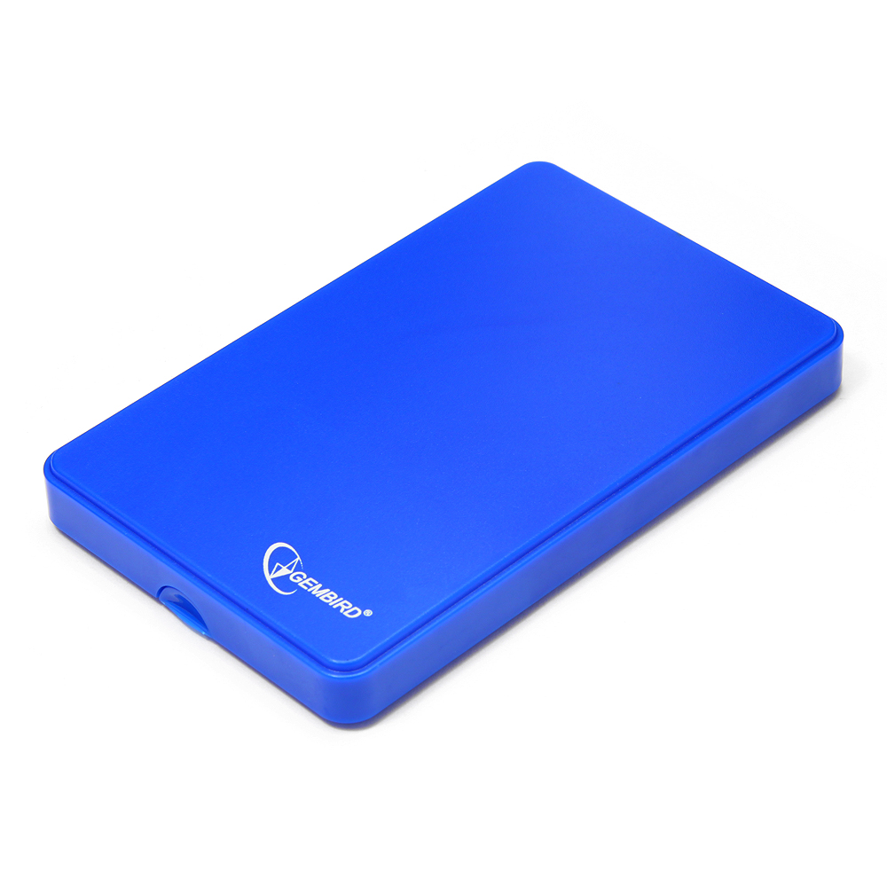 Корпус для жесткого диска Gembird EE2-U2S-40P-B, blue