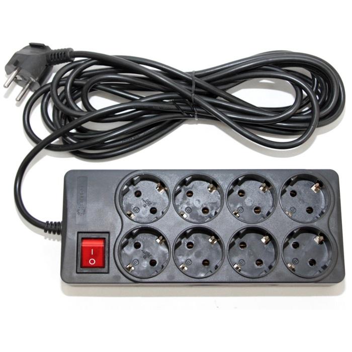 Сетевой фильтр Pilot 15A 3 Sockets 5m 87552