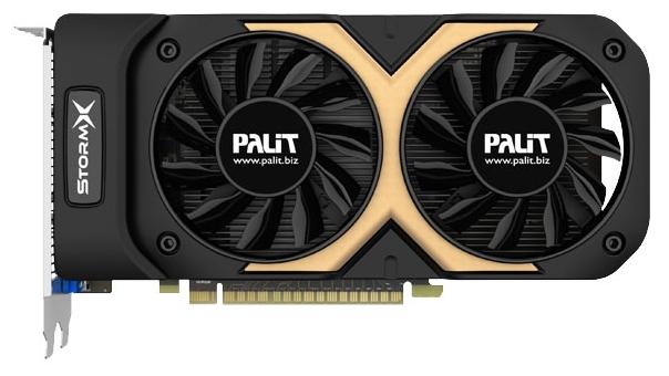 Palit GeForce GTX 750 Ti 1202Mhz 2048Mb - (NVIDIA GeForce GTX 750 Ti, 28 нм, 1202 МГц, 2048 Мб GDDR5@6008 МГц 128 бит, TDP 60 Вт • Разъёмы: DVI, поддержка HDCP, HDMI, VGA.)
