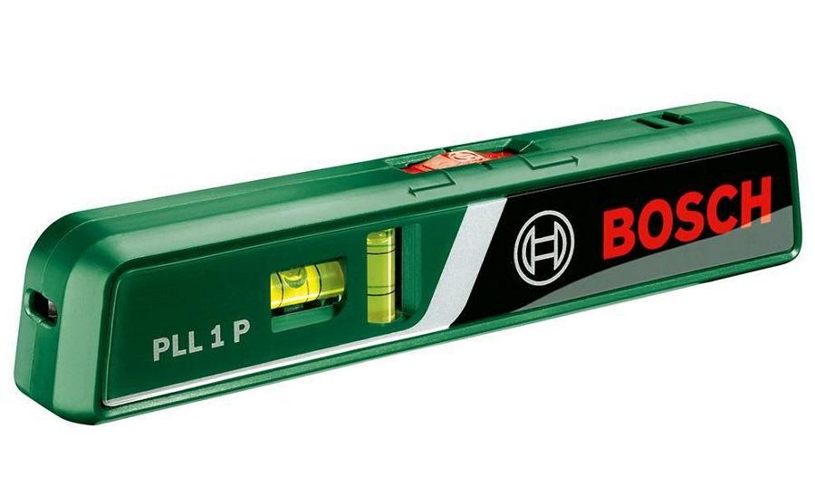 Bosch PLL 1P [0.603.663.320] - (Лазерный уровень; 5 м (линия) и 20 м (точка); лучей 2; выравнивание ручное)