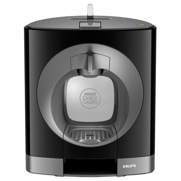 Dolce Gusto Krups Oblo KP110810 - эспрессо, автоматическое приготовление; кофе - капсулы; нагреватель - термоблок; резервуар 0.8 л