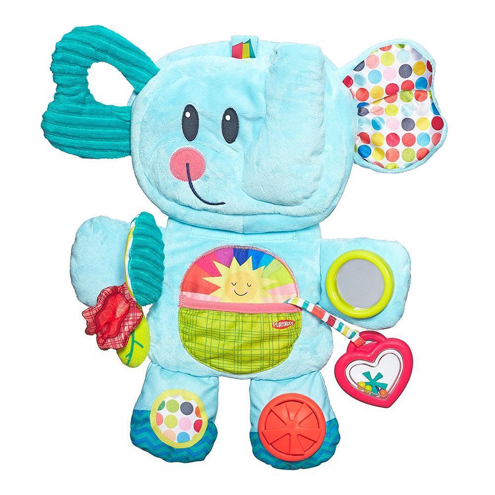 Мягкая игрушка Hasbro playskool веселый слоник