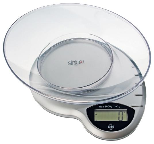 Весы кухонные Sinbo SKS-4511, silver SKS-4511, серебристый