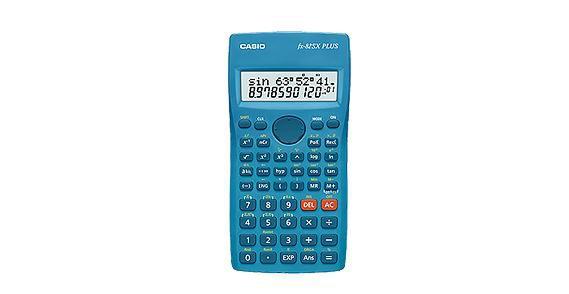 Калькулятор Casio FX-82SX Plus blue FX-82SXPLUS