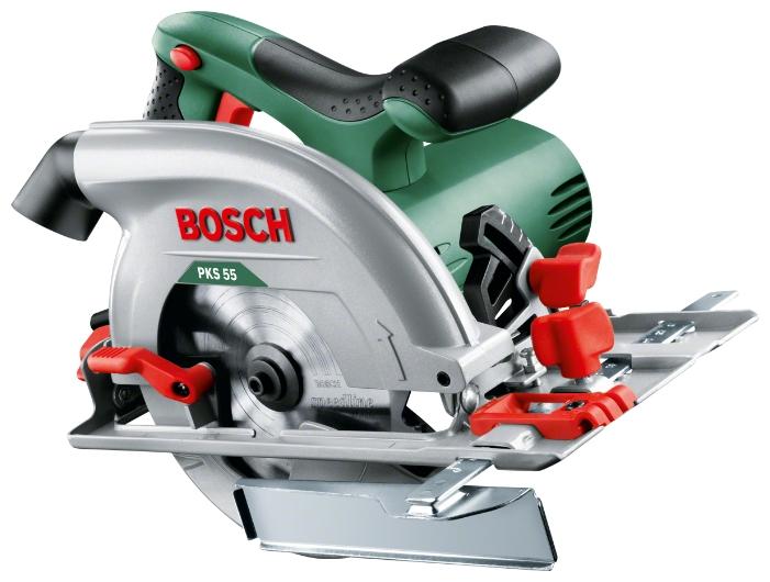 Пила циркулярная (дисковая) Bosch PKS 55 603500020