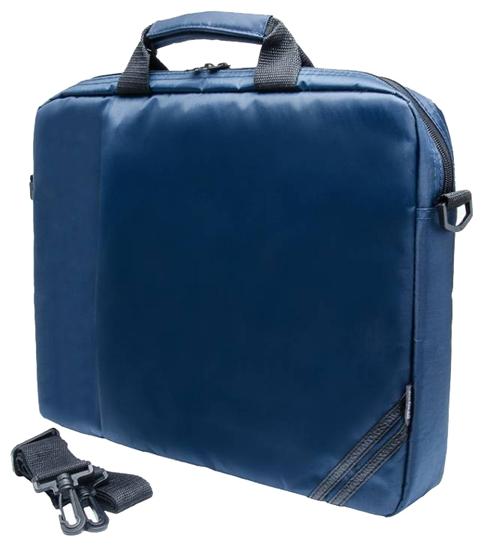 "PC PET PCP-1004 (PCP-1004BL) Blue - сумка; для устройства с экраном 15.6""; материал синтетический (нейлон) • Основное отделение - 38x31x4"