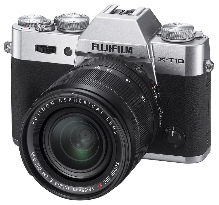 Fujifilm FinePix X-T10 kit 16-50, Silver - (16.7 млн, 1920x1080, 8 кадр./сек, 920000 точек, 3 дюйма)