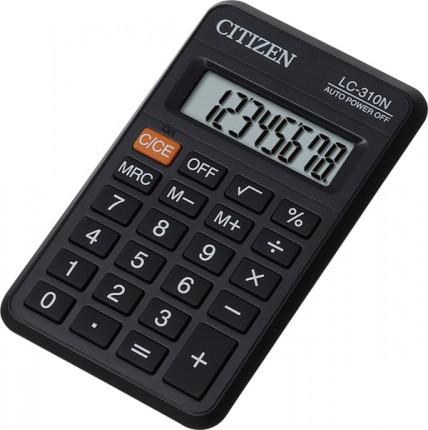 Калькулятор Citizen LC-310N, черный