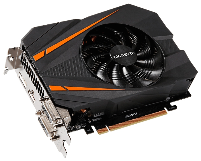 Видеокарта Gigabyte GeForce GTX 1070 1556Mhz PCI-E 3.0 8192Mb GV-N1070IXOC-8GD