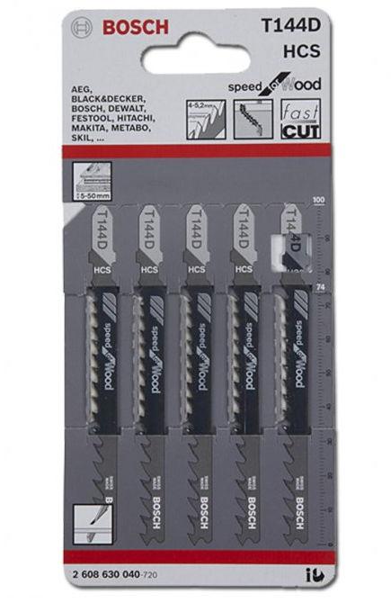������� ������� Bosch 2608630040 (T144D, HCS, 5 ��.)