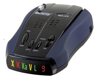 ParkCity RD-33ST - (POP, режим Город: есть, количество уровней - 3, отображение информации: светодиодный дисплей)