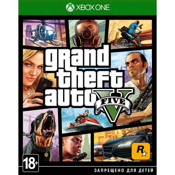 Игра Grand Theft Auto V (Xbox One edition)