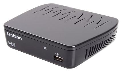 Ресивер Rolsen RDB-514A black 1-RLDB-RDB-514A