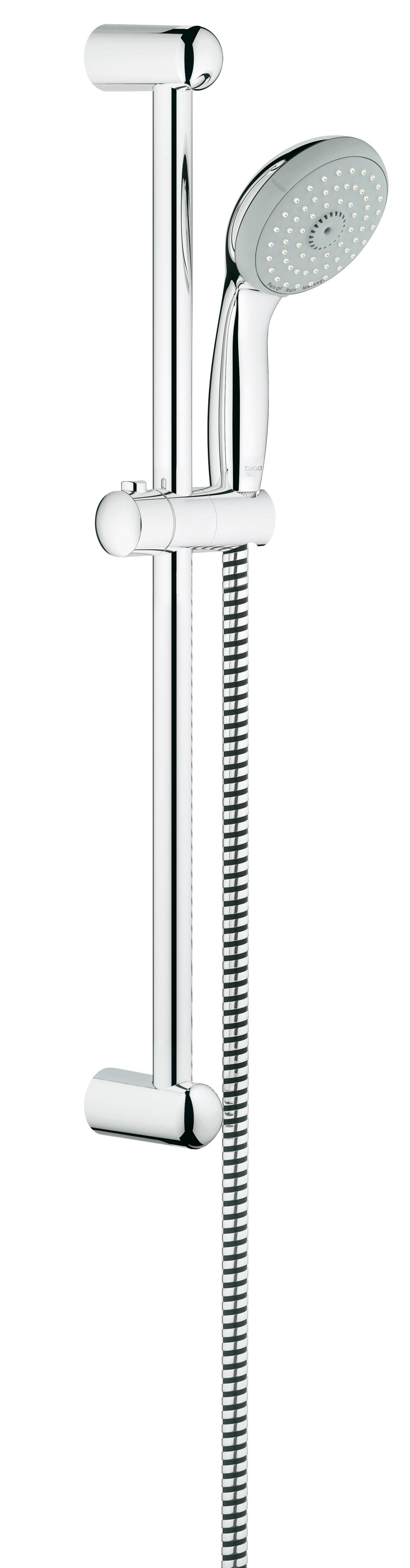 Grohe 27794000 Tempesta Classic (ручной душ, штанга 600 мм, шланг 1750 мм), хром