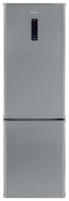 Candy CKBN 6202 DII - (холодильник с морозильником, 309 л (клим.класс N, ST), отдельно стоящий, компрессоров 1, камер 2, дверей 2. Хол-ник 204 л (разм. капельная система). Мор-ник 76 л, внизу (разм. ручное). ШГВ 60x60x200 см. Дисплей есть. Управление электронное. Энергопотр-е класс A+ (319 кВтч/год). серебристый / пластик/металл)