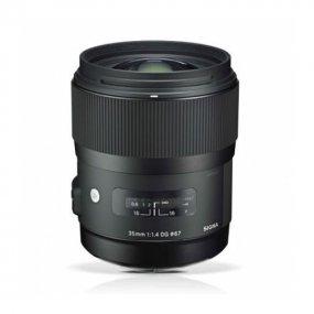 Фотообъектив Sigma AF 35 mm F/1.4 DG HSM для Nikon 340955