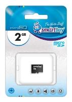 SmartBuy microSD 2GB - (2 Гб; microSD (TransFlash))