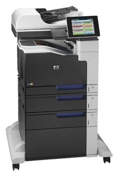 HP LaserJet Enterprise 700 color MFP M775f (CC523A) - ((принтер/сканер/копир/факс); A3; цветная; печать 30 стр/мин (ч/б А4), 30 стр/мин (цветн. А4); двухсторонняя печать есть • Печать на: карточках, пленках, этикетках, глянцевой бумаге, конвертах, матовой бумаге)