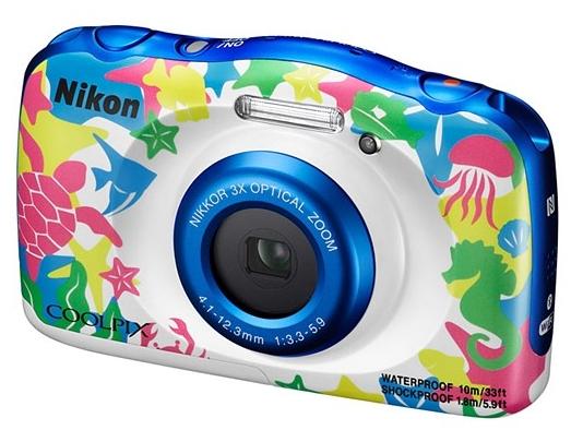 Фотоаппарат Nikon Coolpix W100 Marine VQA014K001