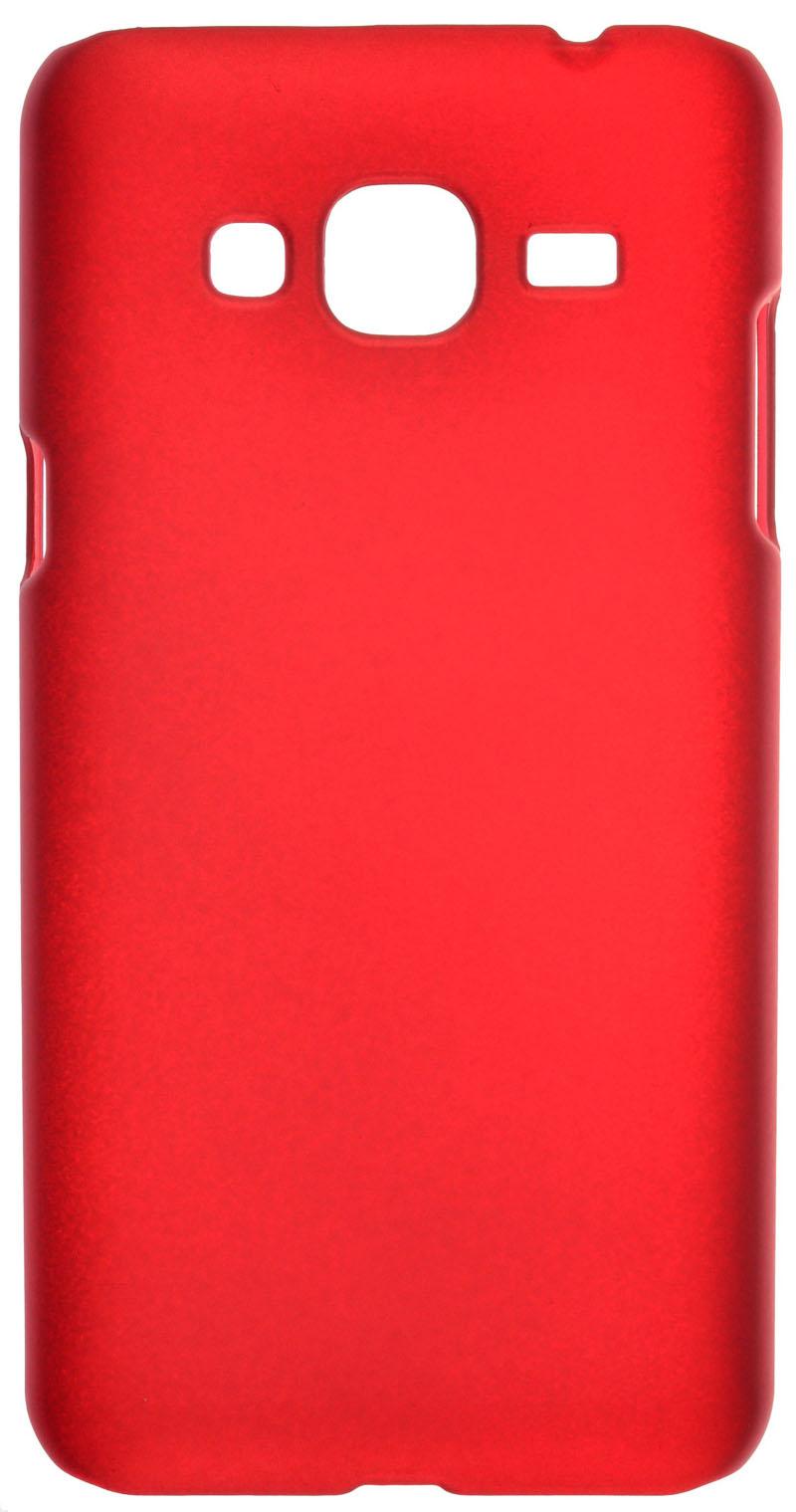 Чехол-накладка SkinBox для Samsung Galaxy J3 (2016) Серия 4People Red
