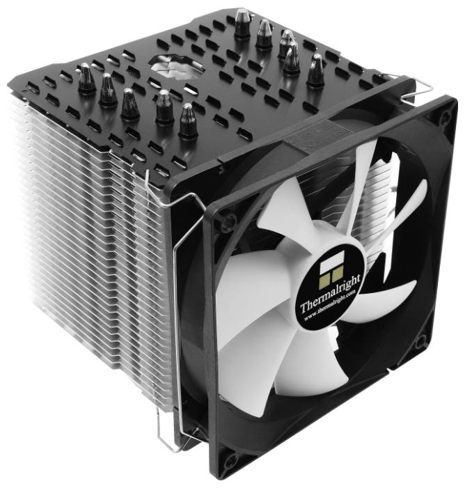 Thermalright Macho 120 Rev.A - для процессора; вентиляторов 1 (120x120x25 мм); 600 - 1300 об/мин; радиатор - алюминий+медь • LGA775,