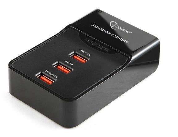 Адаптер питания Gembird MP3A-PC-01 (3 порта)
