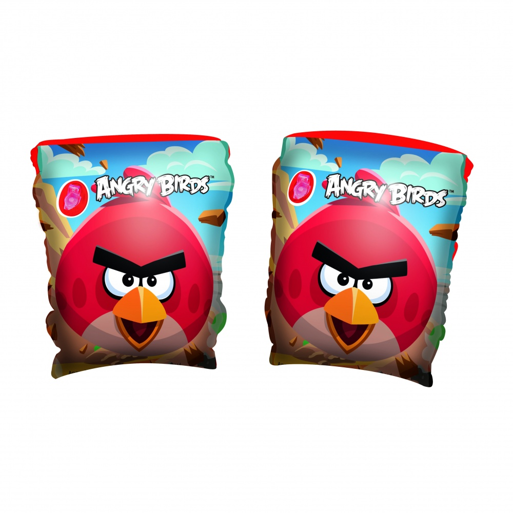 Нарукавники надувные Bestway (3-6) 96100 Angry Birds р23х15см