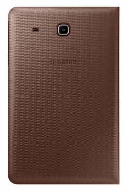 "Samsung Book Cover для Galaxy Tab E 9.6, Brown - Чехол-книжка; для экрана 9.7""; полиуретан, поликарбонат; вес 165 г • назначение -"