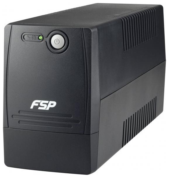 FSP Group Viva 400, Black - интерактивный; 400 ВА / 240 Вт; вход 162 - 280 В; розеток 1 (из них с питанием от батарей - 1) PPF2400700