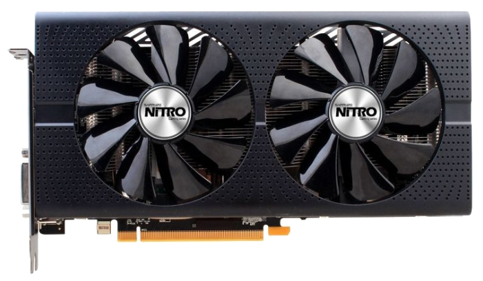 Видеокарта Sapphire Nitro+ Radeon RX 480 1208Mhz PCI-E 3.0 8192Mb 8000Mhz 256 bit DVI 2xHDMI HDCP (11260-01-20g)