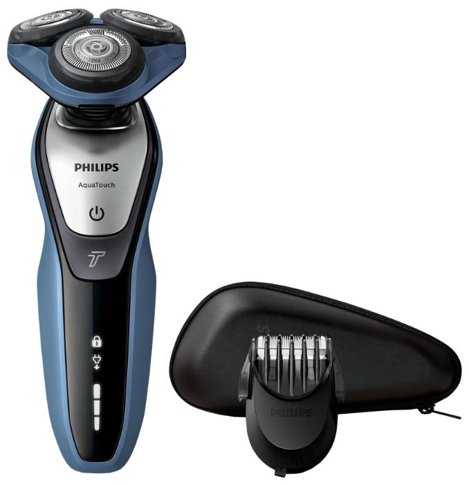 Philips S5620/41 - (бритьё сухое / влажное; система роторная; головок 3; питание от аккумулятора; подвижный бритвенный блок)