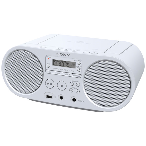 ��������� SONY ZS-PS50, White ZS-PS50/W�