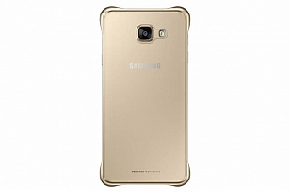 ����� Samsung ��� Samsung Galaxy A7 (2016) Clear Cover gold