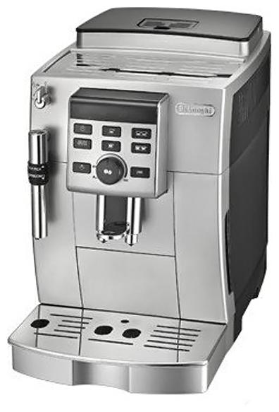 Delonghi ECAM 23.120 SB - эспрессо, автоматическое приготовление; кофе - молотый / зерновой; нагреватель - термоблок; одновременное