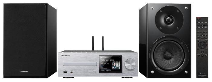 Музыкальный центр Pioneer X-HM86D-S, silver X-HM86D-S, серебристый