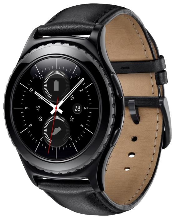 Смарт-часы Samsung Gear S2 Classic Black SM-R7320ZKASER