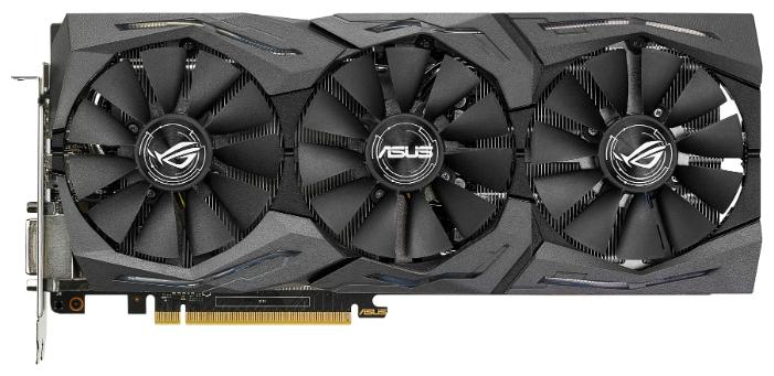 Видеокарта ASUS Radeon RX 480 1266Mhz 8192Mb STRIX-RX480-8G-GAMING