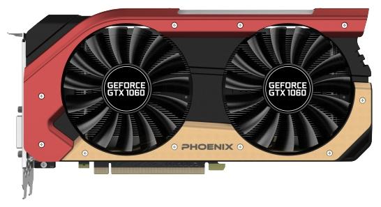 ���������� Gainward GeForce GTX 1060 1506Mhz PCI-E 3.0 6144Mb 8000Mhz 192 bit DVI HDMI HDCP Phoenix 63729