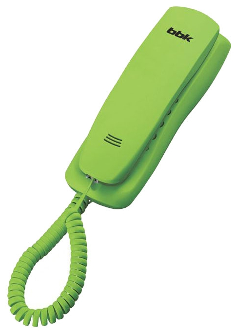 Проводной телефон BBK BKT-105 RU, Green BKT-105 RU зеленый