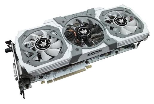 KFA2 GeForce GTX 980 HOF V2 (4Gb GDR5, DVI-I + HDMI + 3xDP) - (NVIDIA GeForce GTX 980, 28 нм, 1266 МГц, boost 1367 МГц, 4096 Мб GDDR5@7010 МГц 256 бит, TDP 180 Вт • Разъёмы: поддержка HDCP, HDMI, DisplayPort x3.)