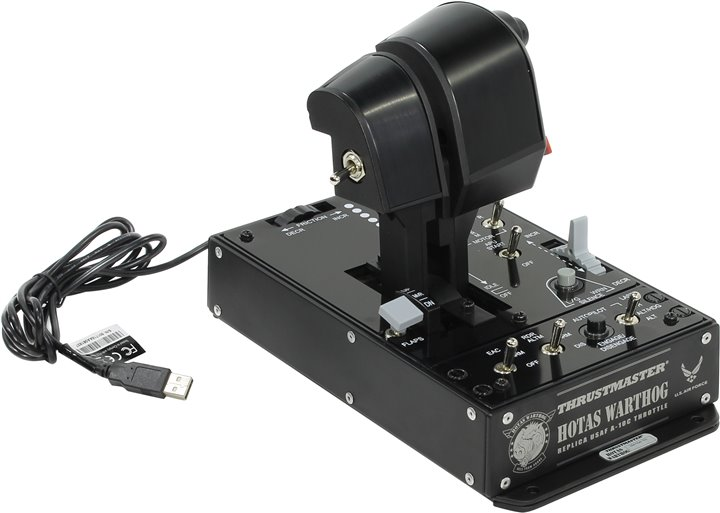 Джойстик Thrustmaster Warthog Dual Throttle black 2960739