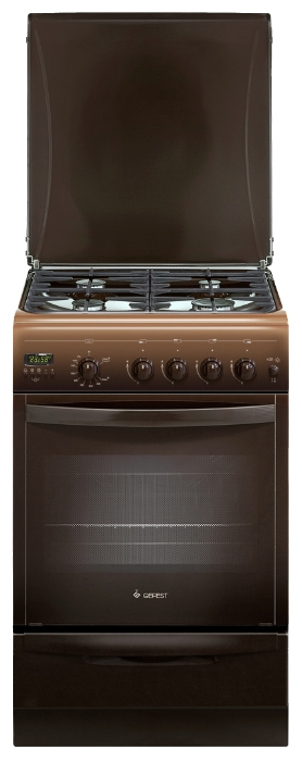 Плита газовая Гефест 5100-04 0001 5100-04 0001 коричневая