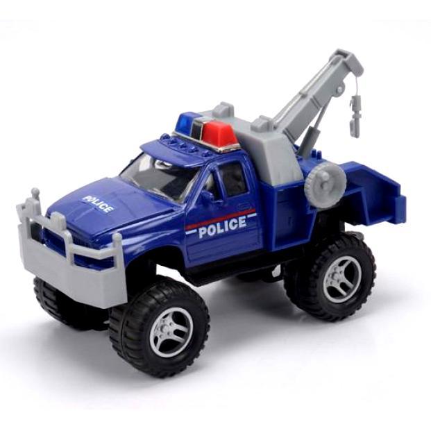 Машинка Soma Полицейский эвакуатор, 18 см. 78868