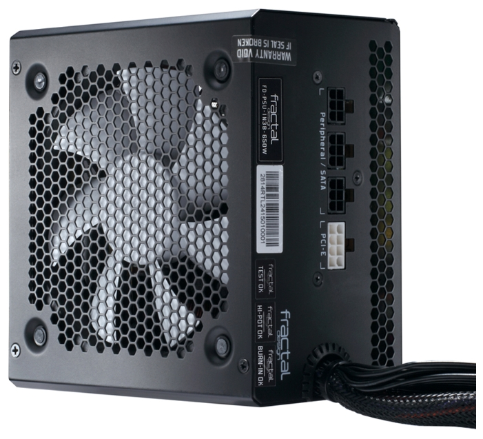 Блок питания Fractal Design Integra M 650W FD-PSU-IN3B-650W-EU